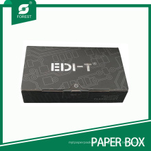 Matt Laminated Logo Gold/Silver Stamping Flashlight Packaging Box