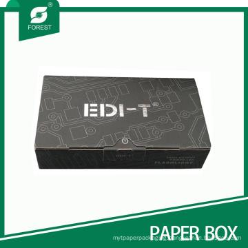 Matt Laminated Logo Gold/Silver Stamping Flashlight Packaging Box