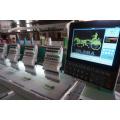 1200 rpm máquina do bordado de alta velocidade com alta produtividade