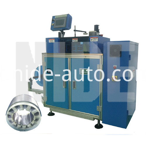 BLDC mtoro stator paper inserting machine
