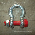 Us Type Forged Shackle, G2130, Bolt Type Safety Anchor Shackle