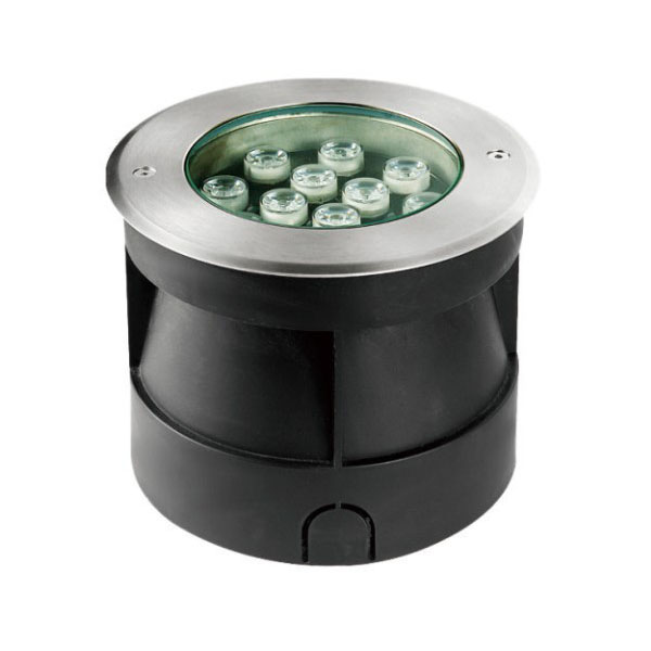 Stainless Steel 6000K 12W LED Inground Light