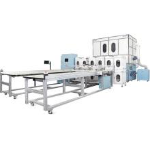 Ropa de cama automática que hace la maquinaria