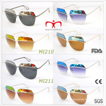 2015 Latest Fashion Style for Ladies Metal Sunglasses (MI210-MI211)