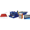 Full Automatic Galvanized Aluminum Steel Profile Roof Panel Cold Making Machine