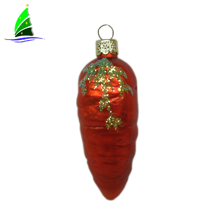 Artdargon-fake-glass-vegetable-ornament-2chili-shape