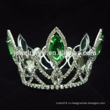 Павлиньи короны тиары, зеленый кристалл горный хрусталь корону на продажу