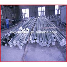 Poteau standard électrique en acier galvanisé