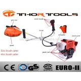 Kawasaki 43cc 52cc brush cutter, grass cutter machine