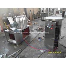 Maquinaria de granulación rápida del mezclador