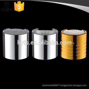 24/410 aluminium disc screw top bottle cap for cosmetic lotion