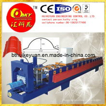 Máquina formadora de rolos de tanque de água de aço HMI e PLC