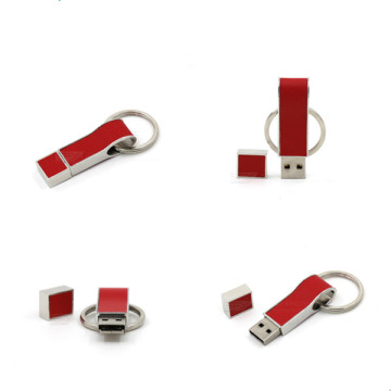 Creative+Leather+Usb+Flash+Drive+with+Key+Chain