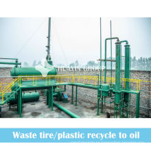Planta de pirólisis de reciclaje de neumáticos de gran beneficio de 2013