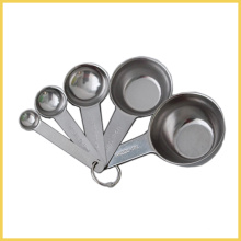 Set of 5 Stainless Steel Measuring Spoon and Cup