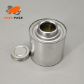 8OZ Prime tinplate can with screw cap