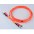 ST multimode 50 125 fiber optical cable,ftth patch cord,drop cable patch cord for telecommunication
