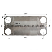 Modèles et marges d'échangeur de chaleur Prix de la plaque et du joint