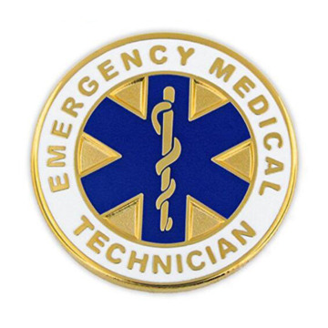 Emergency Medical Technician EMT Revers Pin