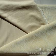 Tissu 100% de chenille de polyester teint par plaine pour le sofa