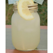 Glass Mason Jar with Metal Lid (TM010616)