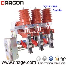 FKN12A-12/T125-31.5 12кв вакуумный высоковольтный пневматический Тип выключателя нагрузки