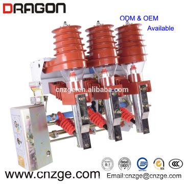 FKN12A-12 / T125-31.5 12kv vide haute tension type pneumatique interrupteur de charge