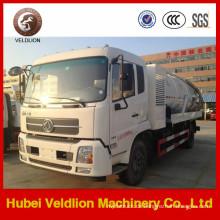 4X2 Dongfeng 12000L Vakuum-Abwasser-Saugwagen