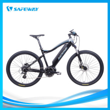 Streamlined aluminum frame MTB electric bike