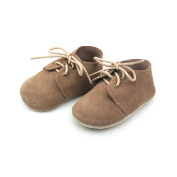 Soft Sole Leather Baby Shoes Oxford Schoenen voor kinderen