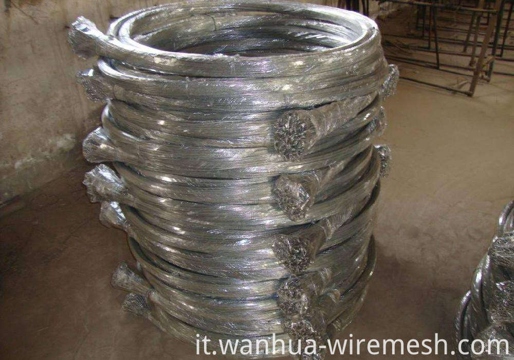 Cotton bale ties galvanized 4.5 mm wire rod