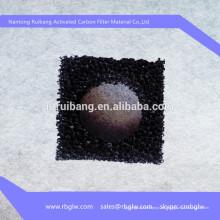 filtro de carbón activado algodón