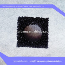 algodão do filtro de carbono ativado