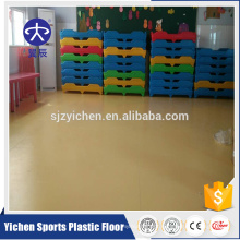roll flooring pvc raw materials for kindergarten usage