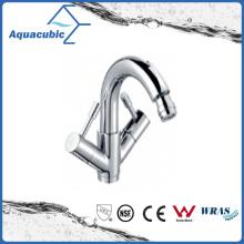 Chromed One Hole Dual Handle Brass Bidet Faucet (AF6000-8A)