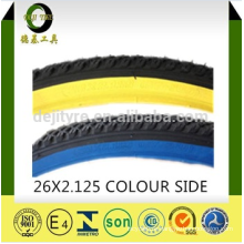 high quality bicycle tyre/tires and color inner tube price