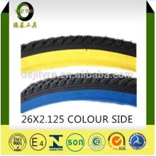pneus/pneus de bicicleta de alta qualidade e preço de tubo interno de cor