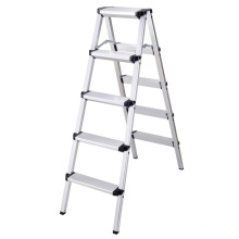 New design high quality a type aluminum household step ladder,platform a frame ladder