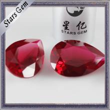 #5 сияющий Красный синтетический Рубин для мода Glaomur кольца