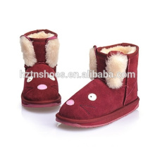 Kids boots cartoon pattern winter snow boots