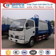 Dongfeng 5000 litros camión de basura china para la venta