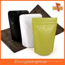 Guangzhou fournisseur OEM gros en ligne imprimé personnalisé stand up zipper sac en papier