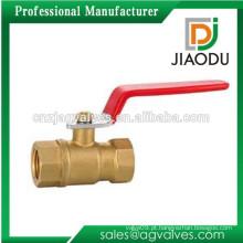 "1/4 ""Inch Brass Válvula de esfera de alta pressão"