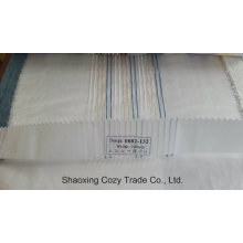 New Popular Project Stripe Organza Voile Sheer Curtain Fabric 0082132
