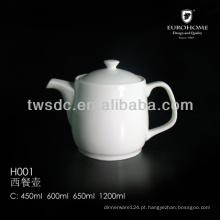 Bule de chá porcelana ferro, bule de chá com infusor de chá