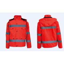 Reflexivo naranja de trabajo de seguridad chaquetas y ropa interior