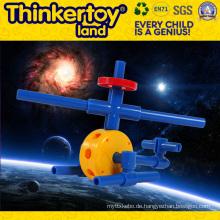 DIY Plastic Education Spielzeug für die Kultivierung des Kindes Kreativität