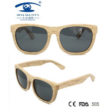 Italy Design Famous Brand Wooden Sunglasses