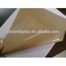 China Premium Grade Teflon Blatt Rolle Hochtemperatur Teflon beschichtet Fiberglas Blatt