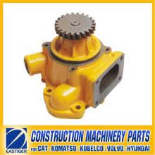 6151-61-1101 Pompe à eau S6d125 Komatsu Machines de construction Pièces de moteur